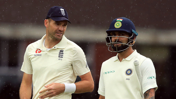 Virat Kohli loses top spot in Test rankings while James Anderson breaches the 900-point mark