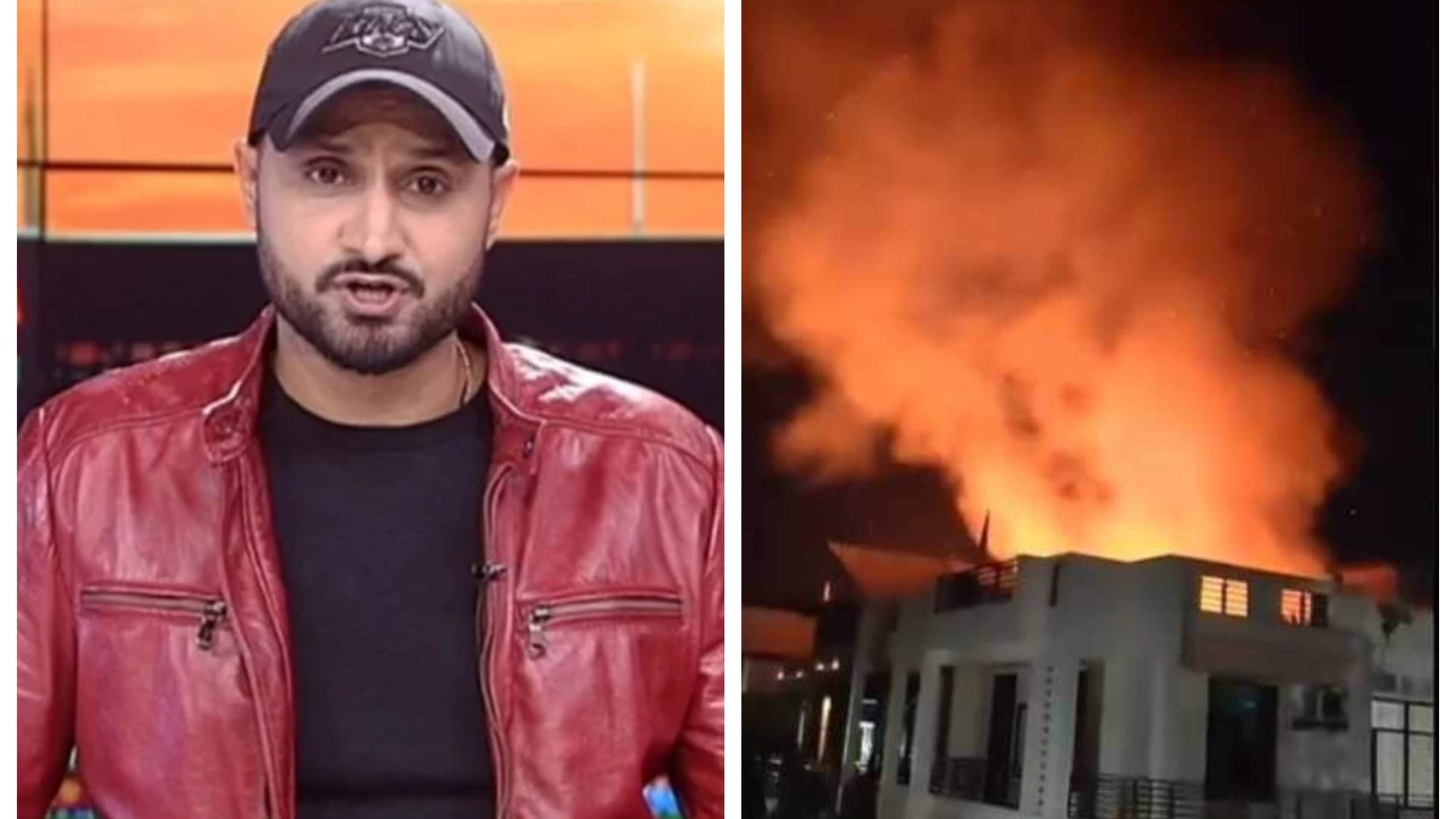 'How to find a cure for stupidity', asks Harbhajan Singh as crackers cause fire in Jaipur