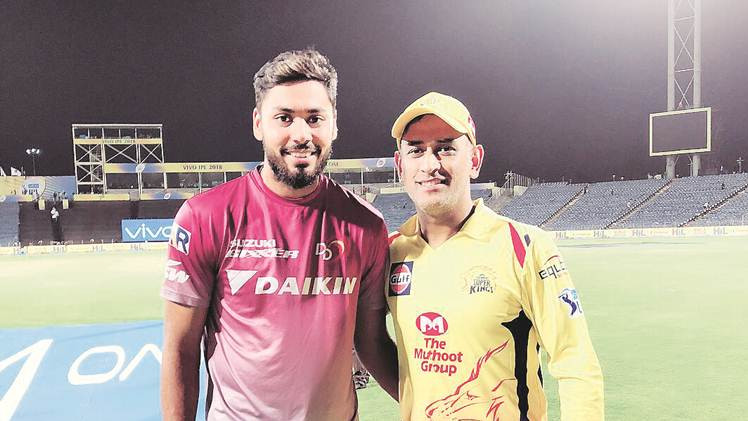 Avesh Khan seeks MS Dhoni's guidance to better his arsenal