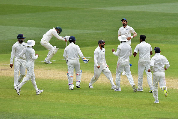 India won the Adelaide Test by 31 runs to go 1-0 up | Getty Images