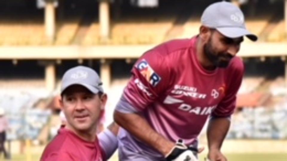 IPL 2018: Mohammed Shami joins Delhi Daredevils training