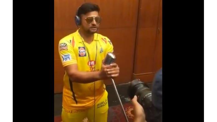 IPL 2019: सुरेश रैना ने चेन्नई सुपर किंग्स के लिए आईपीएल 2019 युद्ध नारे का बिगुल बजाया