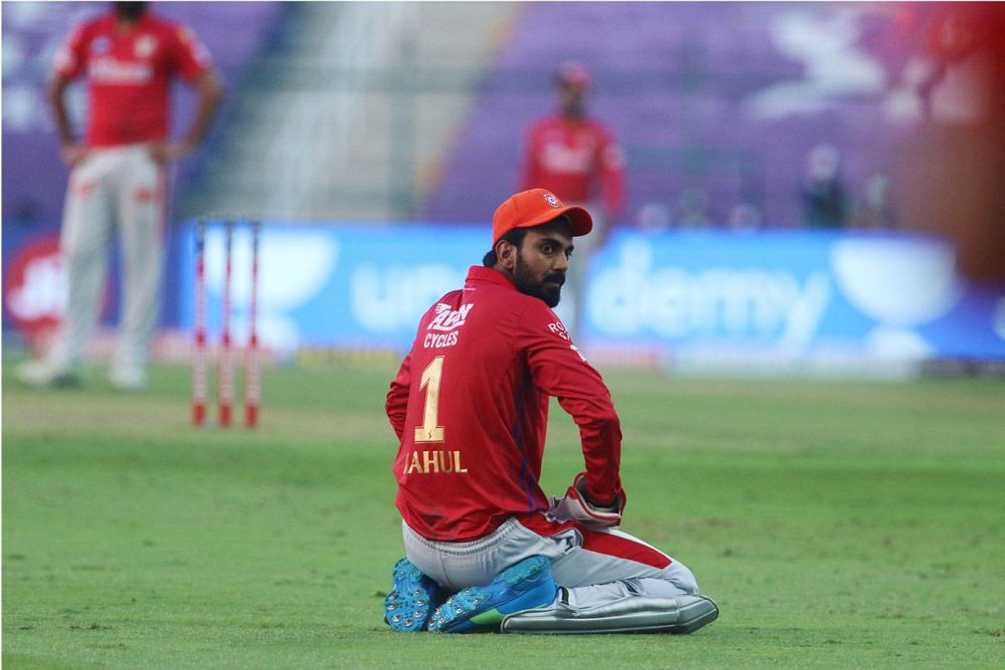 A dejected KL Rahul | BCCI/IPL
