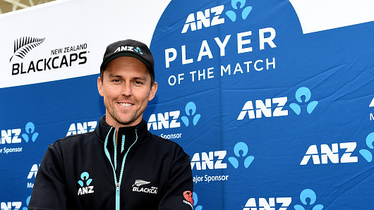 NZ v BAN 2021: WATCH - Trent Boult donates his Player of the Match $500 prize money to hometown club