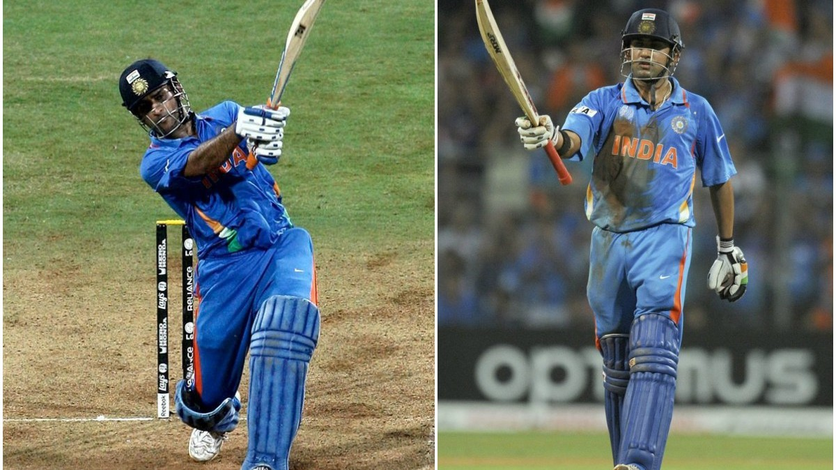 'World Cup 2011 was won by entire Indian team' - Gambhir irked by 'obsession' with Dhoni six