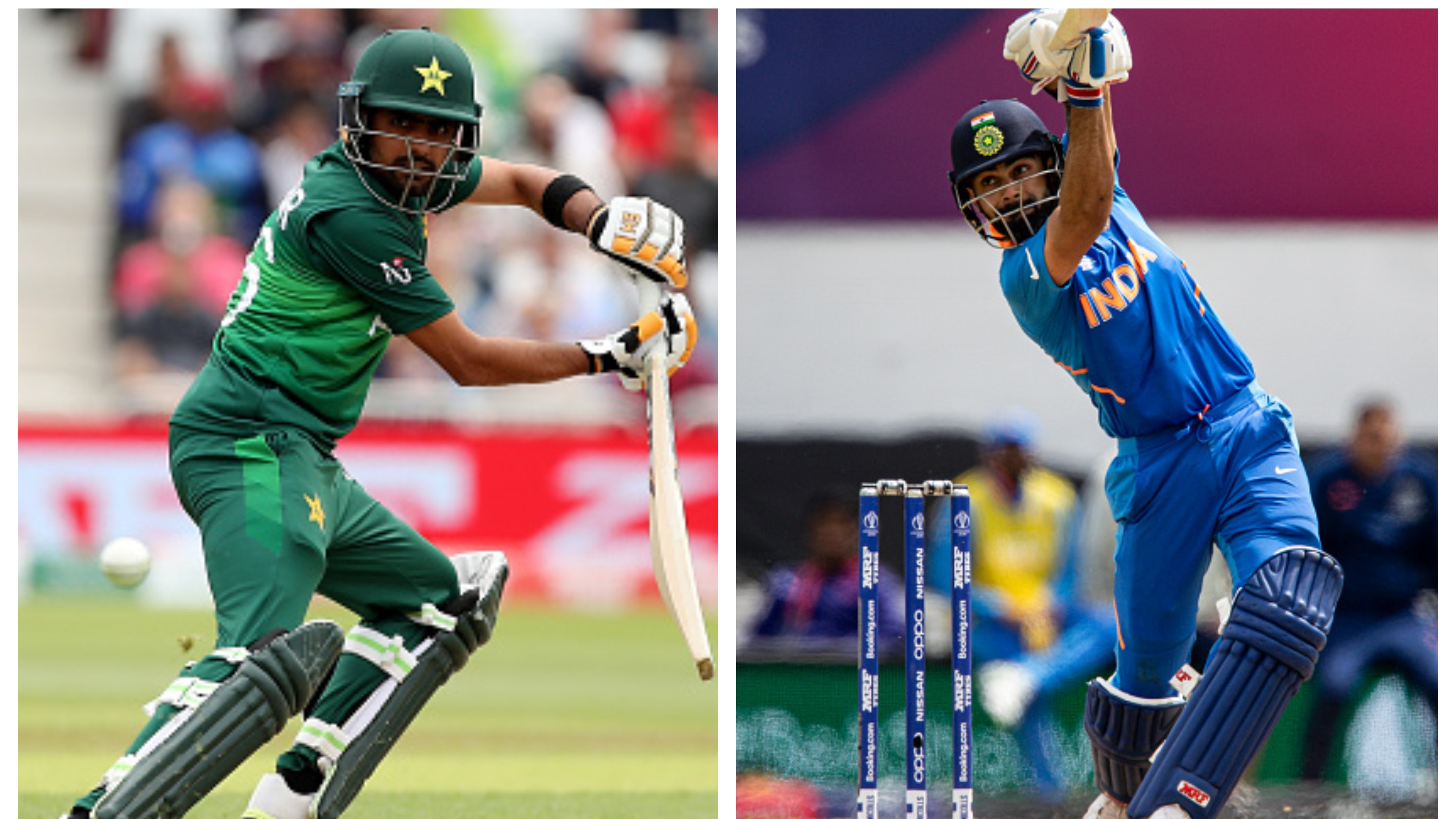 CWC 2019: Babar Azam observes Virat Kohli's game keenly to fine-tune his batting