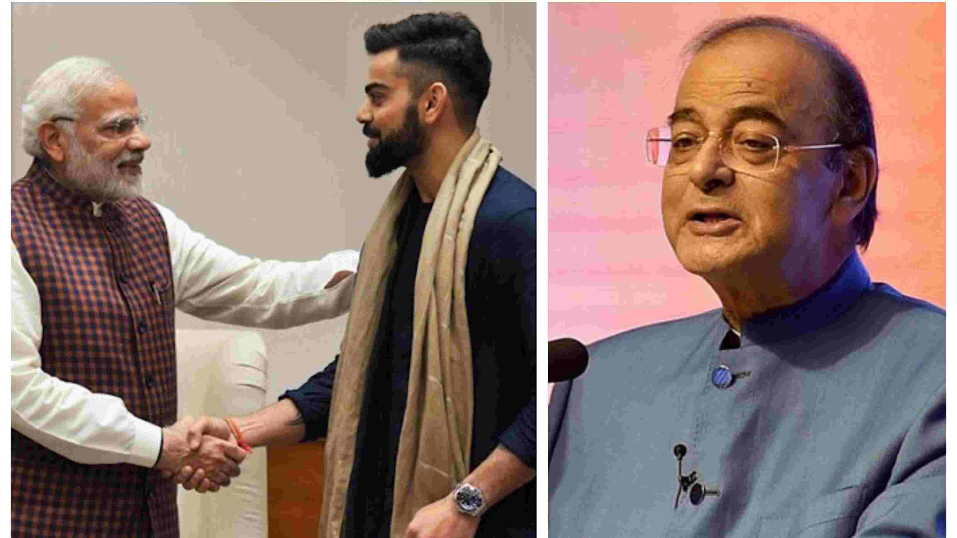 Virat Kohli and PM Modi are near invincible in their respective fields, says Arun Jaitley
