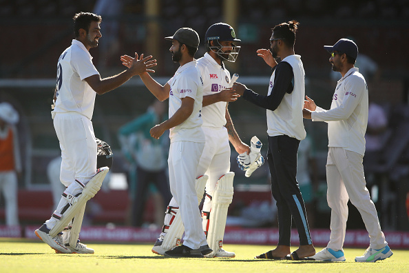Team India batted out 131 overs to darw the Sydney Test | Getty