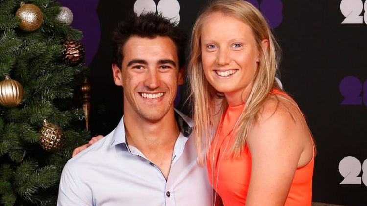 WATCH- Alyssa Healy's sarcastic comment on husband Mitchell Starc ...