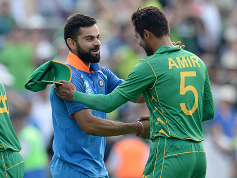 India and Pakistan faced each other during the Champions Trophy in England last year | Getty