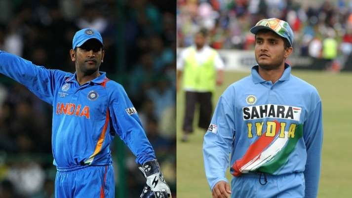 MS Dhoni finishes narrowly ahead of Sourav Ganguly in the survey for India's greatest captain