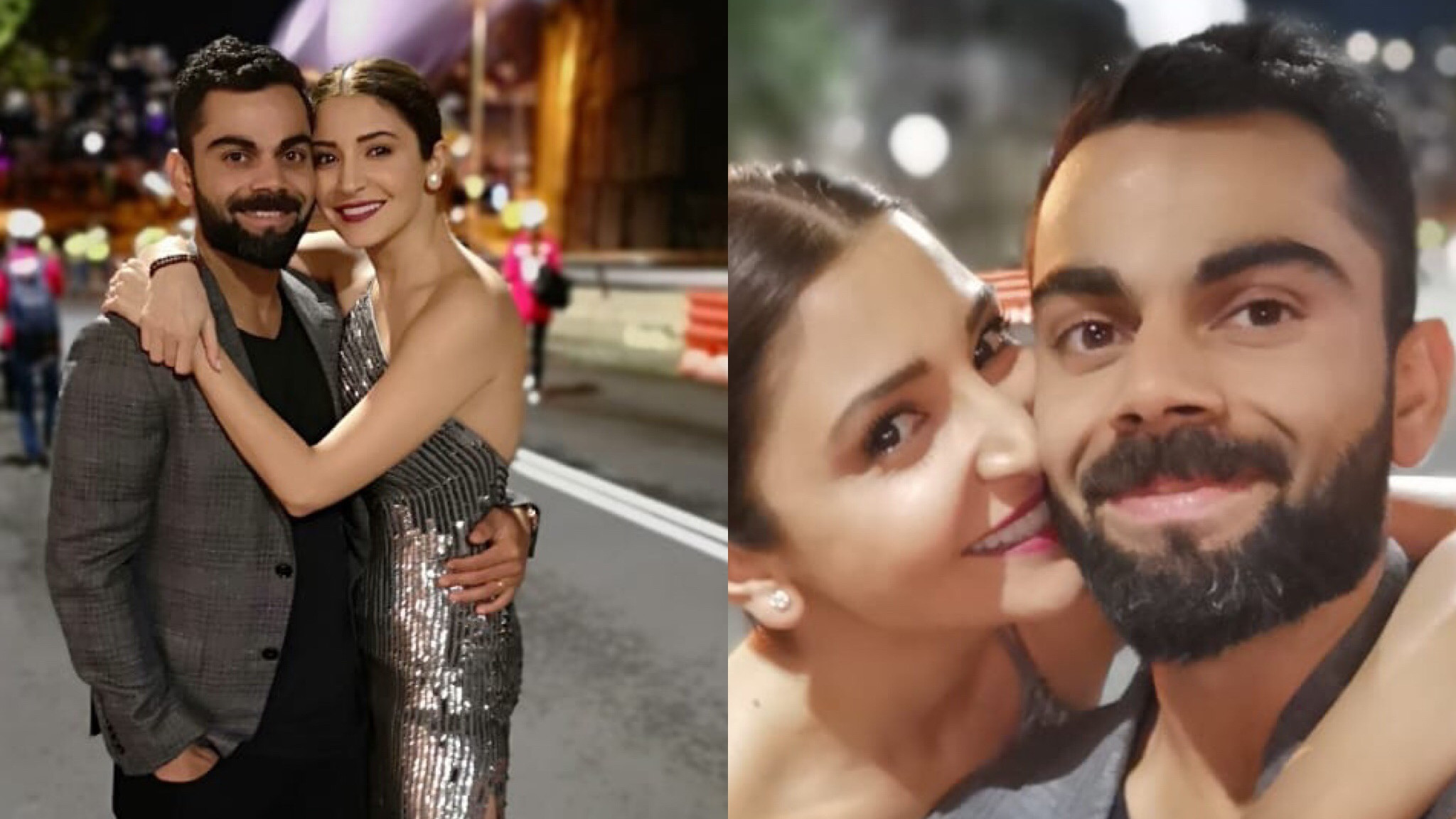 Virat Kohli and Anushka Sharma ring in the New Year in Sydney