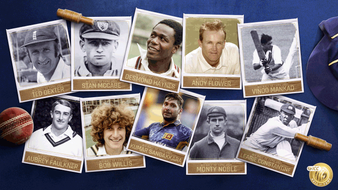 The 10 legends of the game to be inducted into ICC Hall of Fame 2021 | ICC Twitter