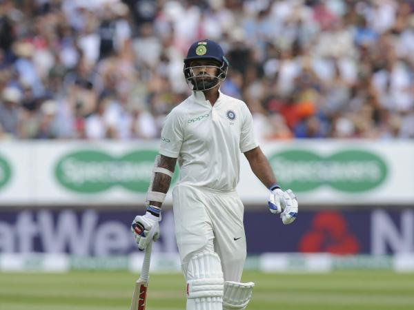 Shikhar Dhawan failed in both innings of  the first Test. (Getty)