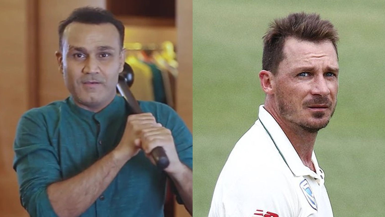 """Still have nightmares of Chennai,"" Dale Steyn says while wishing Virender Sehwag on his 42nd birthday"