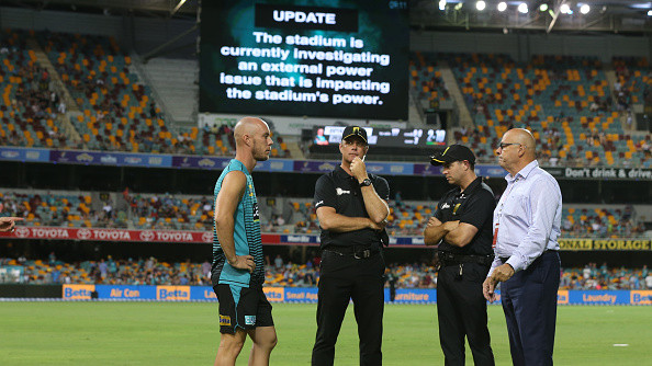 Questions raised over Gabba's potential to host day-night Test after BBL power outage