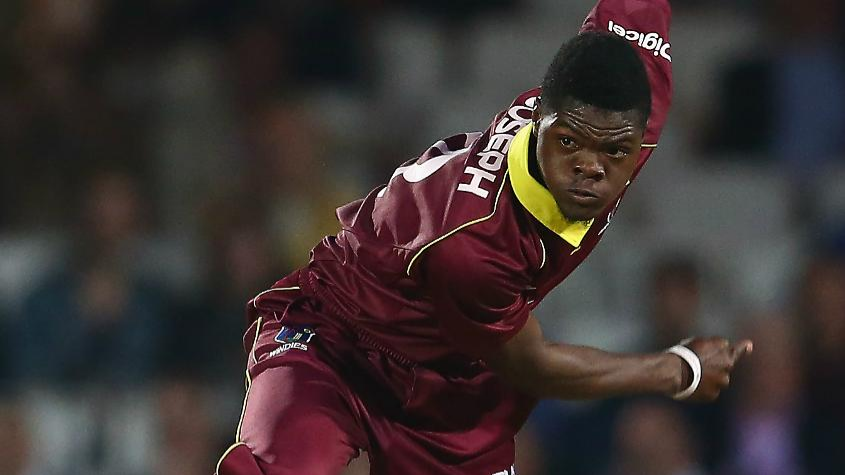 WI v BAN 2018: West Indies' Alzarri Joseph receives reprimand and demerit point for misconduct