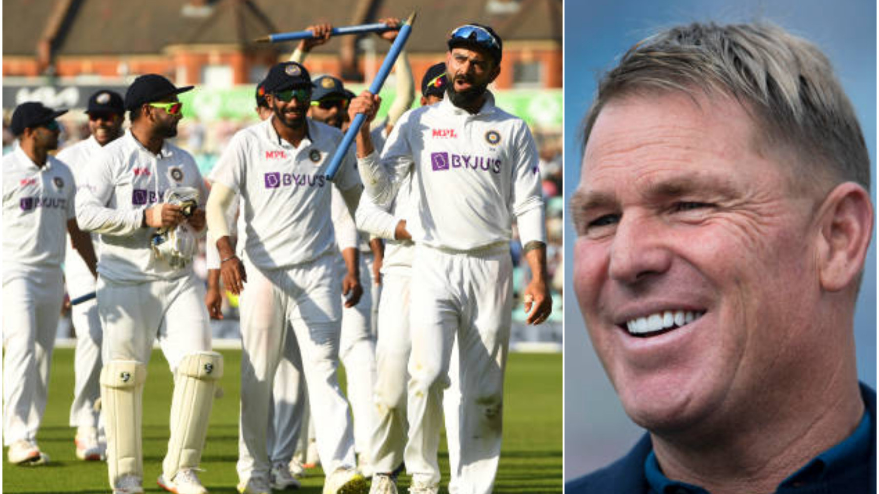ENG v IND 2021: 'I take my hat off to India with the cricket they played,' says Shane Warne