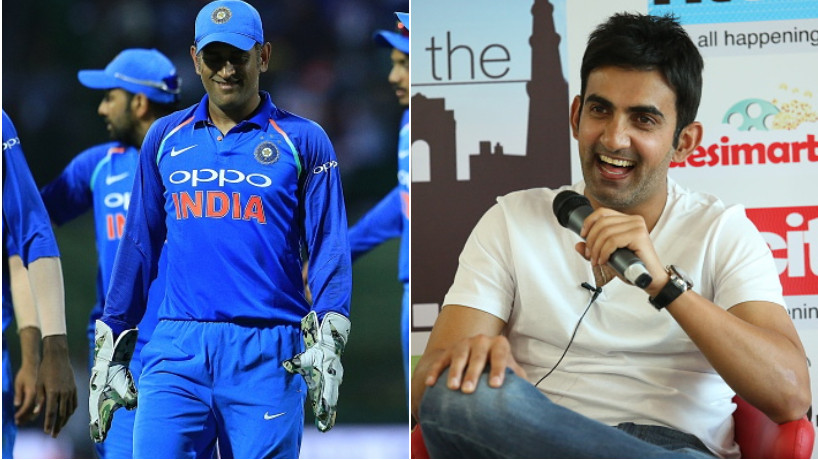 Gautam Gambhir opens up about MS Dhoni's future in international cricket