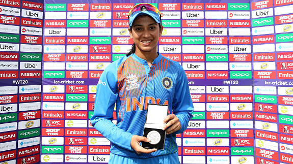 Women's World T20: Smriti Mandhana ecstatic after a thumping win over Australia