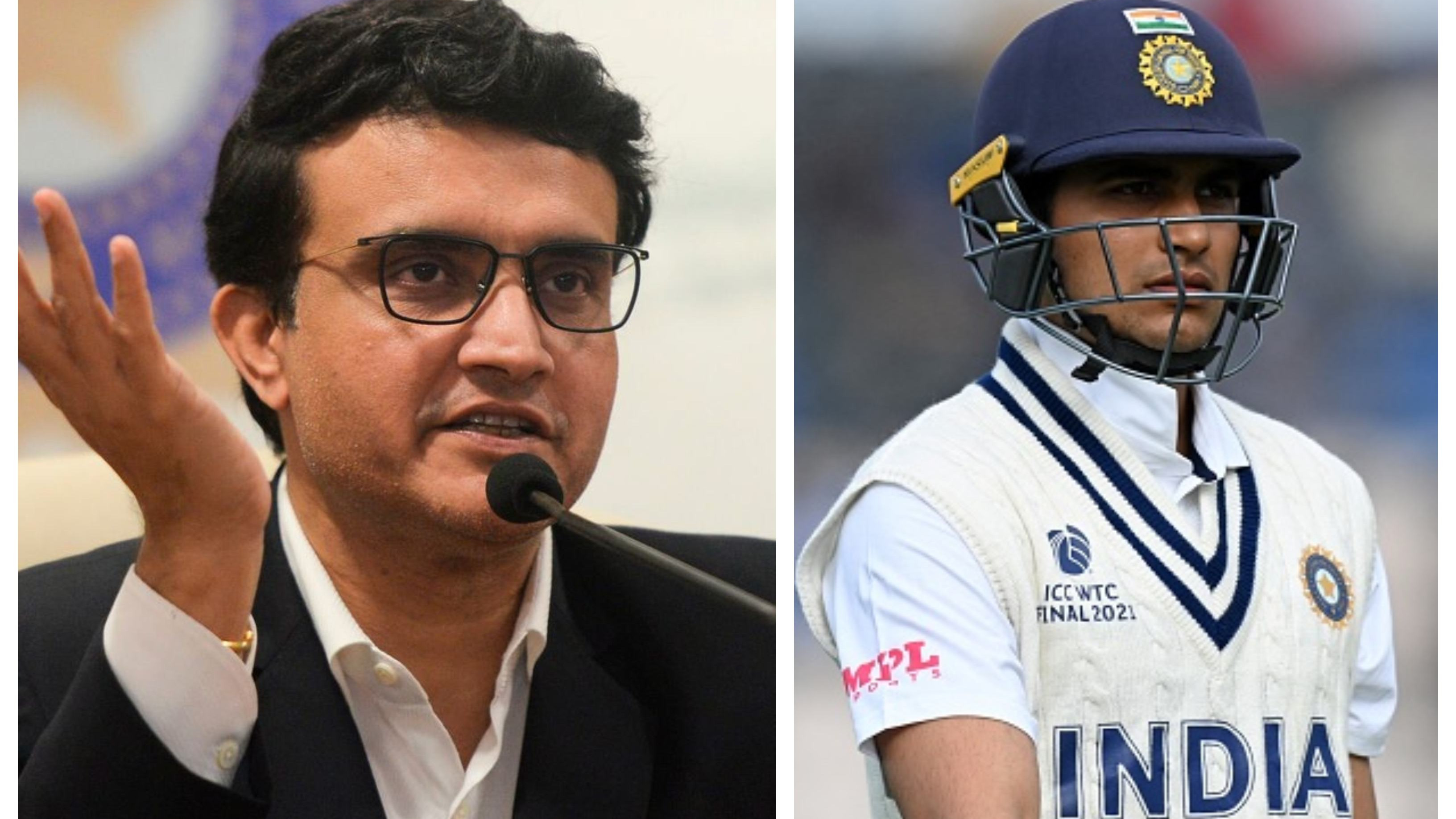 ENG v IND 2021: Sourav Ganguly reacts to selectors' decision of not sending a replacement for injured Shubman Gill