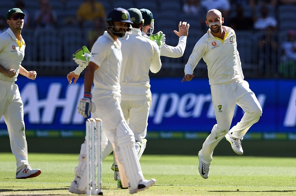 Lyon dismissed Kohli for the seventh time in the Test cricket  | Getty Images