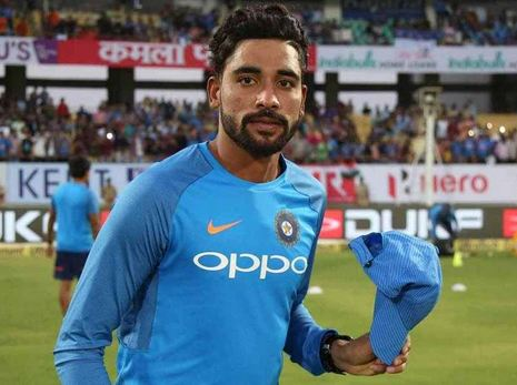 Mohammed Siraj called into the Indian team for ODIs against Australia and New Zealand | AFP