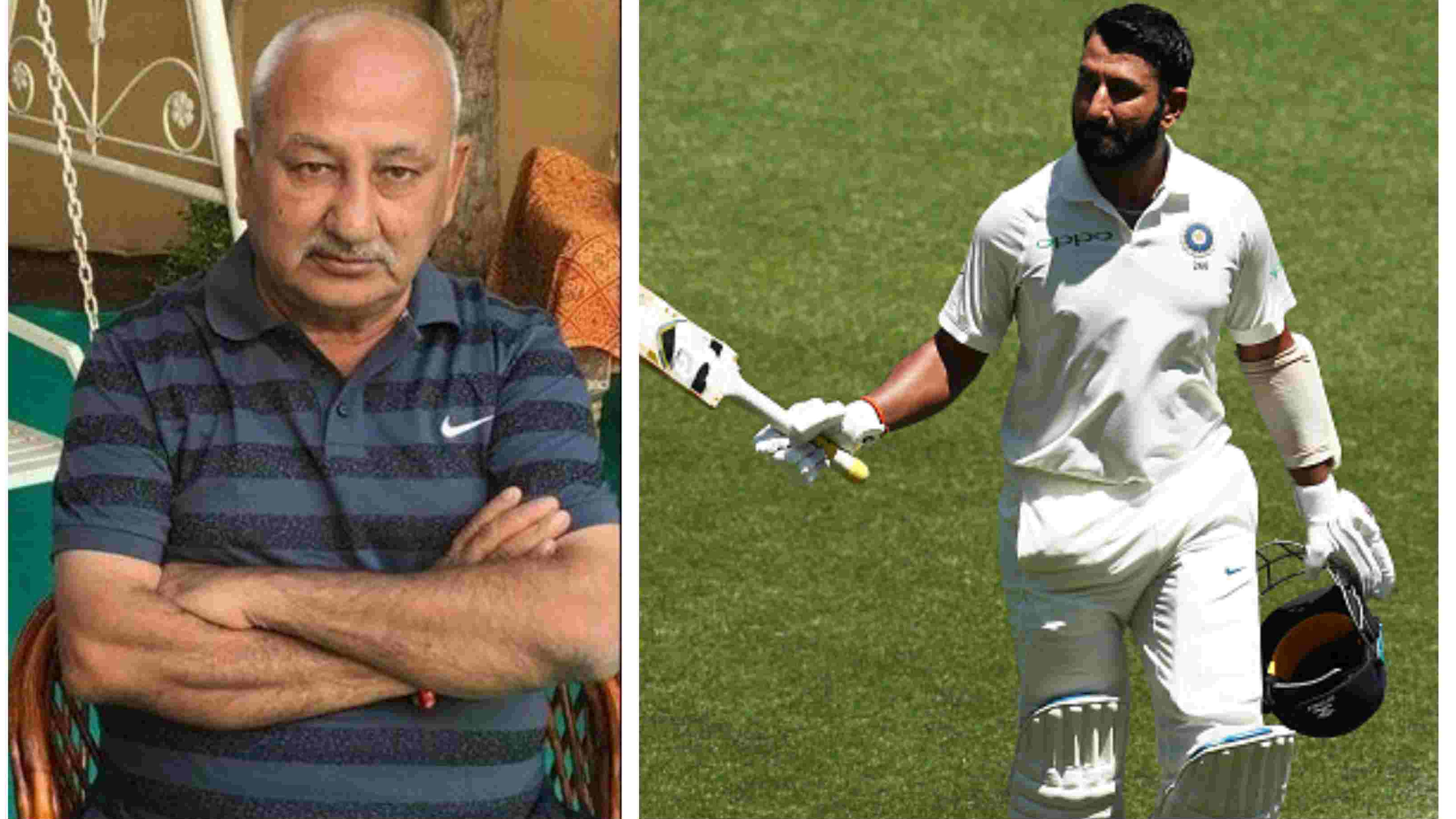 AUS v IND 2018-19: Pujara's father unable to watch his son's Sydney masterclass owing to a heart procedure
