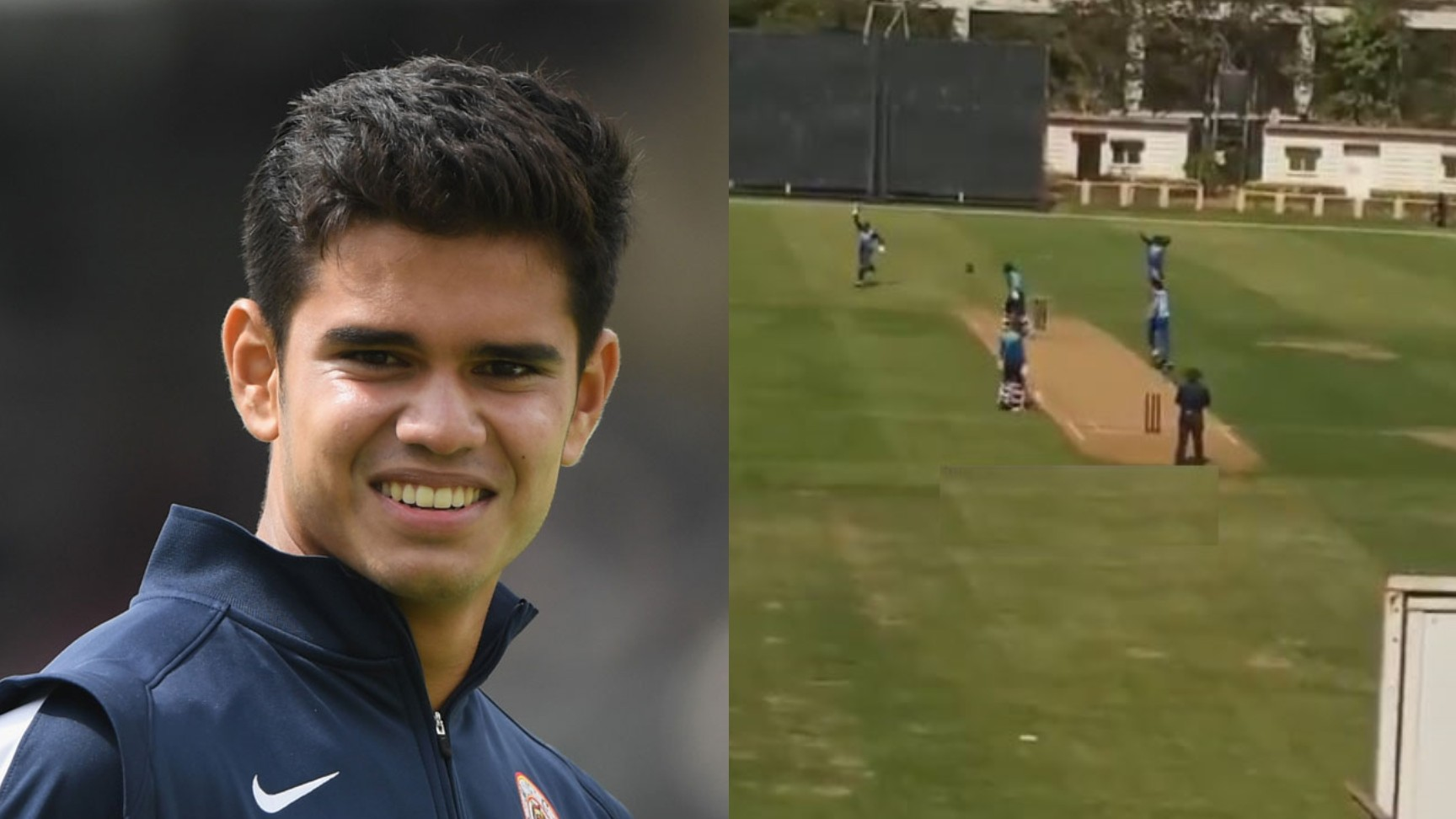 SMA Trophy 2021: WATCH- Arjun Tendulkar's first wicket for Mumbai on his T20 debut