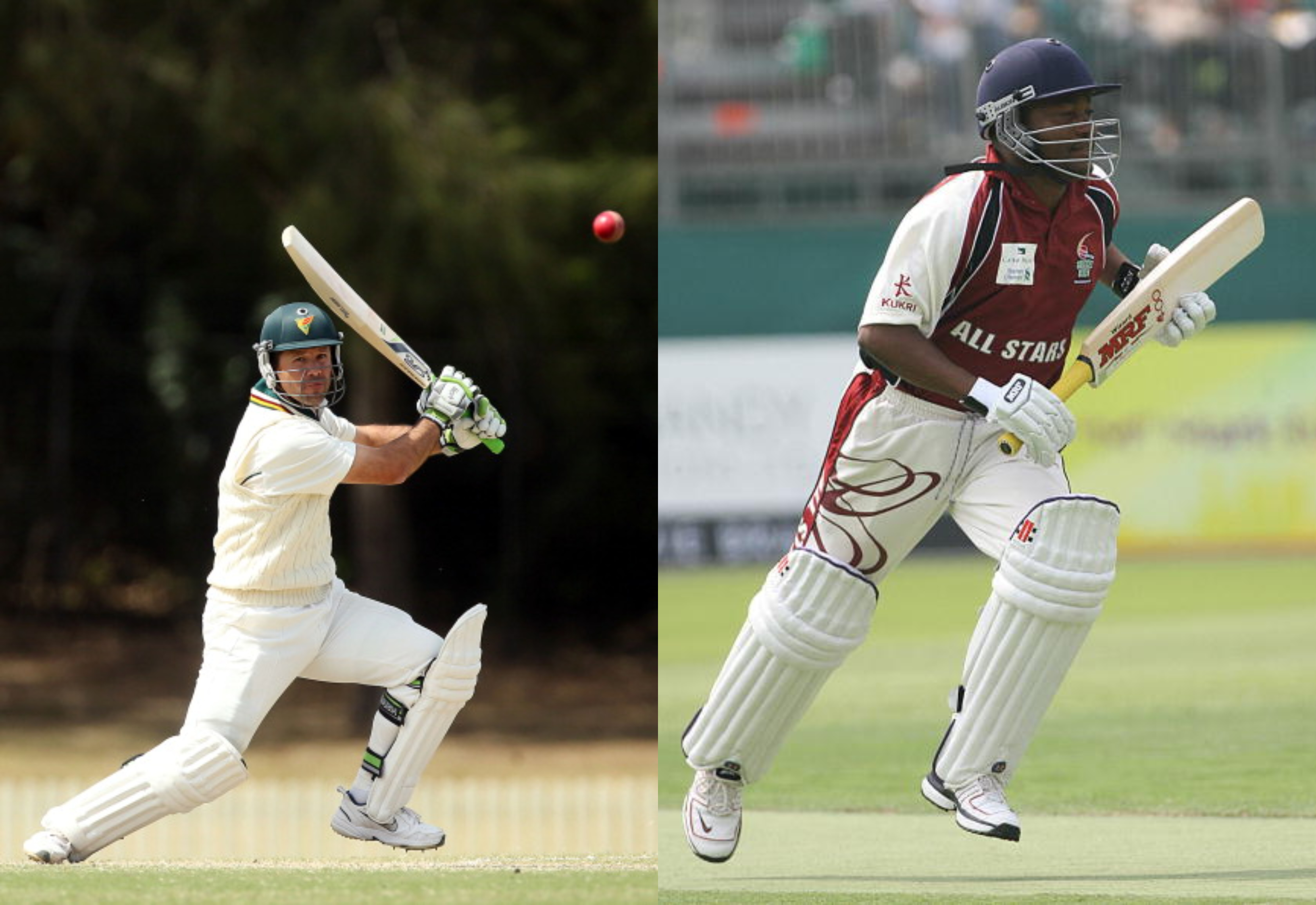 Ricky Ponting and Brian Lara impressed Hyden most | Getty Images