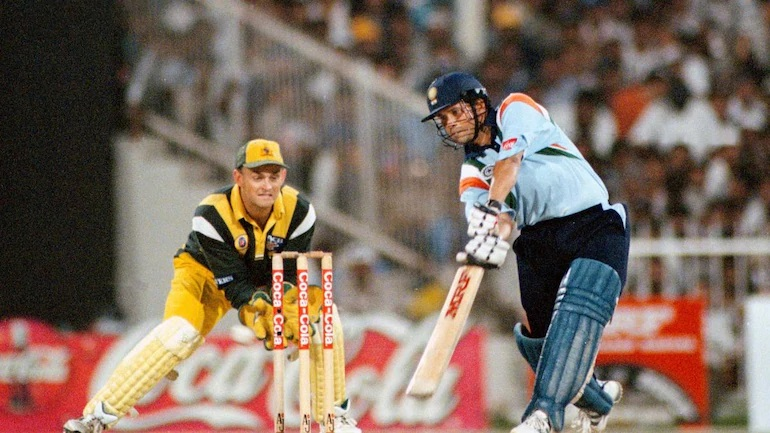 Sachin Tendulkar played one of the best ODI innings of all time in Sharjah