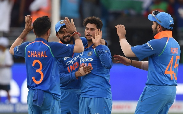 Kuldeep Yadav picked 10 wickets in the tournament | Getty