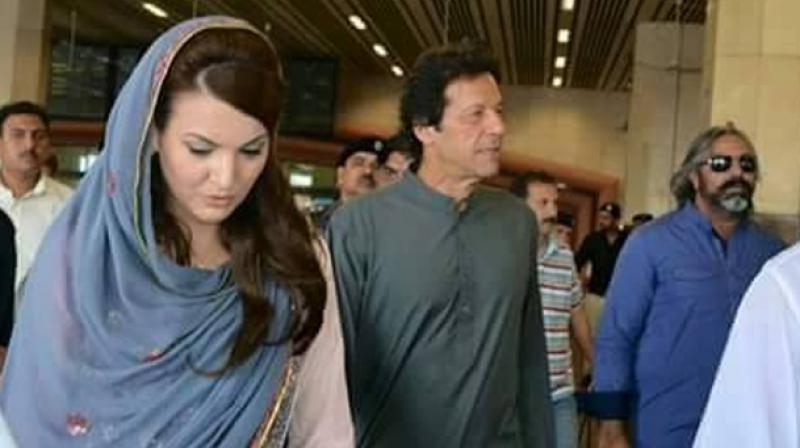 Reham Khan and Imran Khan |Reham Khan/Facebook