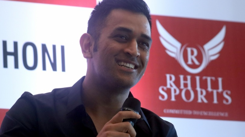 WATCH: Emotional fan falls at MS Dhoni's feet during an event