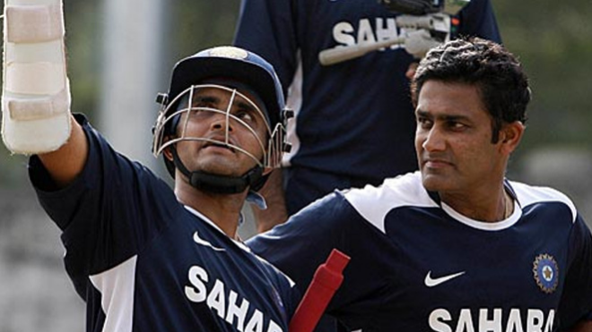 Sourav Ganguly talks about leaving Kumble out of playing XI during the 2003 World Cup