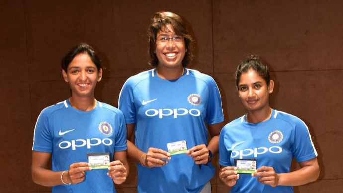 Harmanpreet, Jhulan and Mithali conferred with honorary life membership by CCI