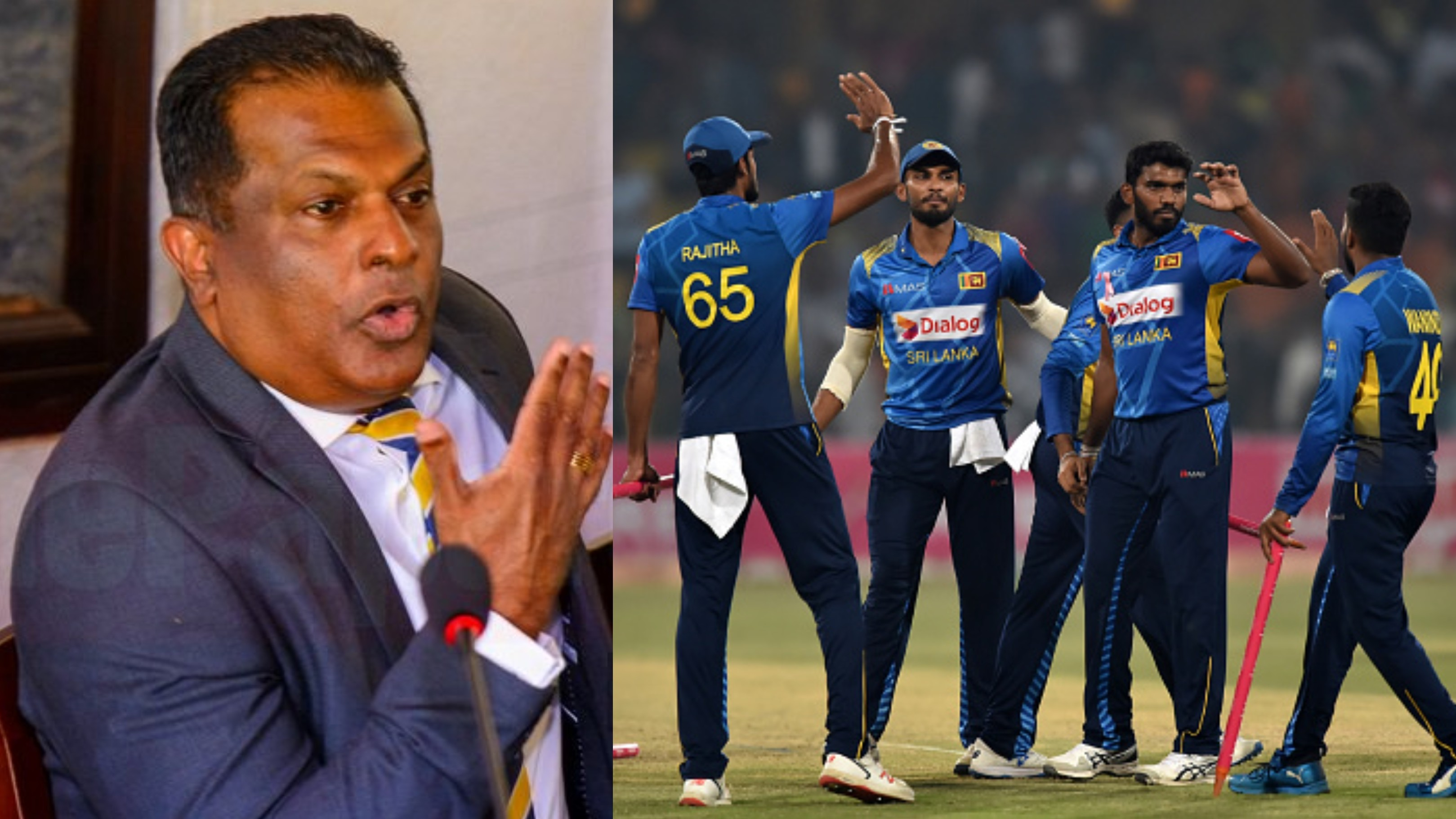 Sri Lankan players were fed up with stringent security arrangements in Pakistan, says SLC President
