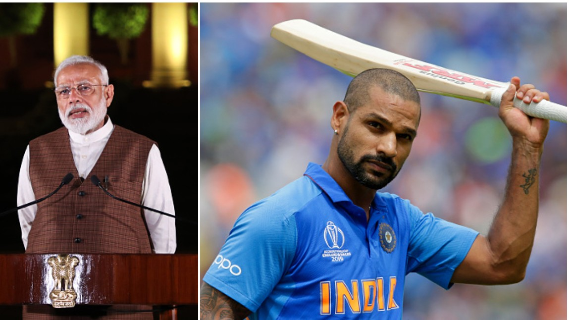 CWC 2019: PM Narendra Modi wishes a speedy recovery to Shikhar Dhawan