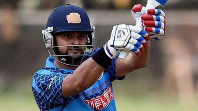 Suresh Raina to lead Uttar Pradesh in the upcoming Vijay Hazare Trophy