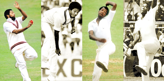 No one can forget the West Indian fast bowlers of 70s and 80s