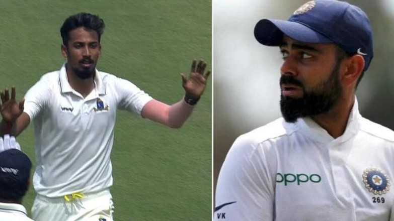 """""""I would love to bowl to Kohli"""", says Ishan Porel after magnificent run in Ranji Trophy"""
