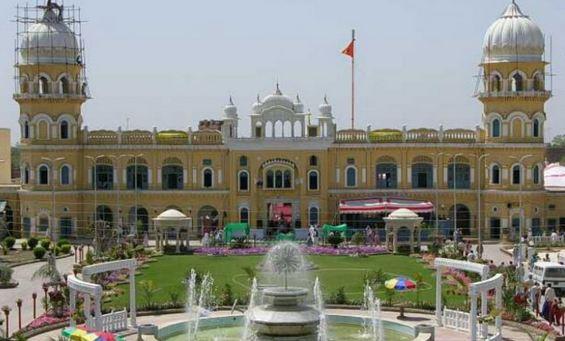 Gurdwara Nankana Sahib in Pakistan, birthplace of Guru Nanak Dev