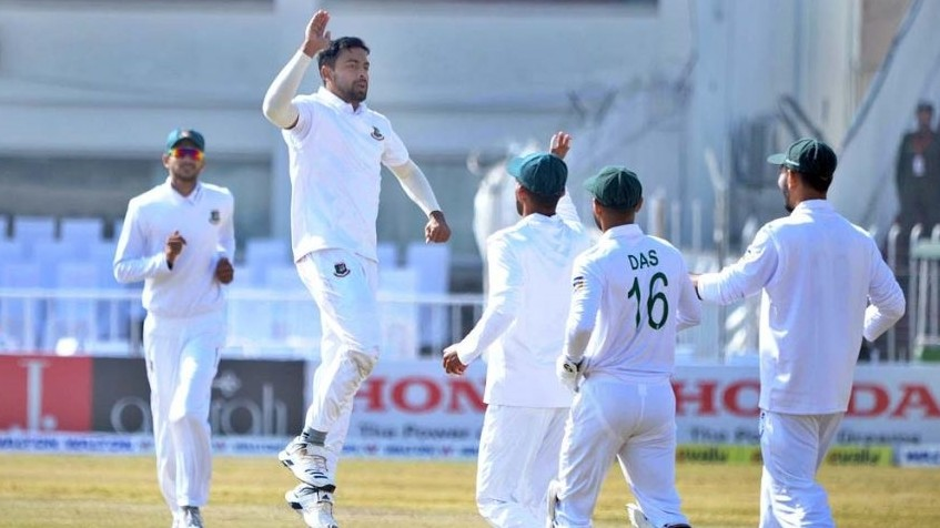 PAK v BAN 2020: Bangladesh's Abu Jayed reprimanded for aggressive celebration by ICC