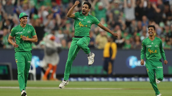 BBL 09: WATCH - Melbourne Stars' Haris Rauf takes second hat-trick of the day in BBL