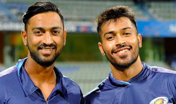 Krunal and Hardik both will play for MI in IPL 2018. (AFP)