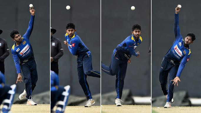 SL v ENG 2018: WATCH – Kamindu Mendis shows his ambidextrous bowling skills in a warm-up match against England