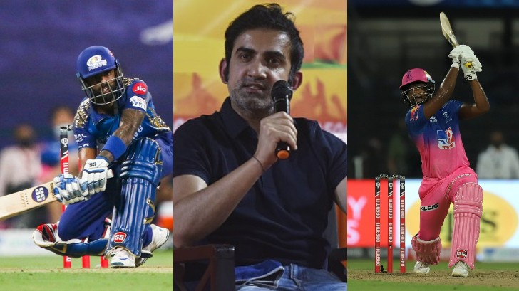 IPL 2020: Twitterati ask Gautam Gambhir 'What about Samson?' after he praises Suryakumar Yadav