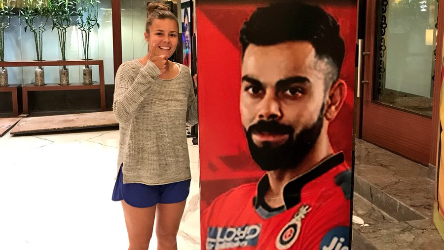 WATCH: English women cricketer Alexandra Hartley does IPL dance