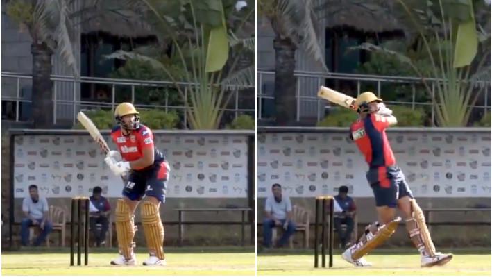 IPL 2021: WATCH - Punjab Kings batsman Shahrukh Khan shows off his power-hitting ahead of the tournament