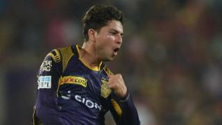Kuldeep has been a linchpin for KKR's success in the past. (AFP)